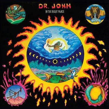 Dr John<br>In The Right Place (Splatter Vinyl)