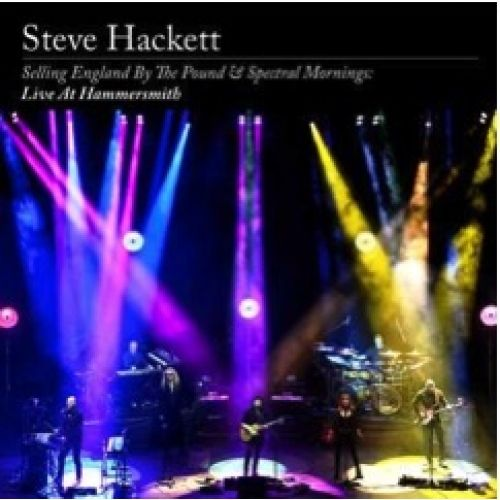 Steve Hackett<br>Selling England By The Pound & Spectral Mornings - Live (2CD & Blu Ray)