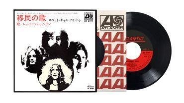 Led Zeppelin<br>Immigrant Song / Hey Hey What Can I Do