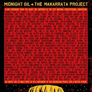 Midnight Oil<br>The Makarrata Project (Yellow Vinyl)